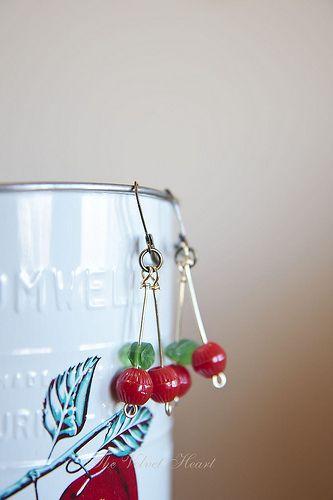 Cherry- O- Baby Earrings