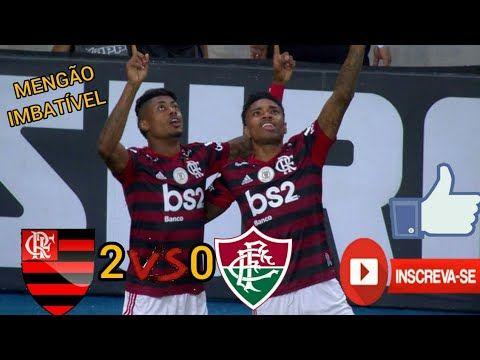 Flamengo 2 X 0 Fluminense Melhores Momentos E Gols Flamengoaovivo Youtube Fluminense Gol Flamengo