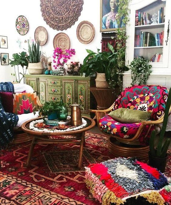 Pin On Living Room Living room boho decor ideas