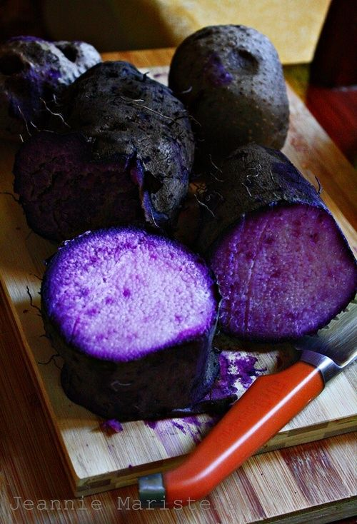 Goddess Of Scrumptiousness • Purple Yam Fudge (Halayang Ube):