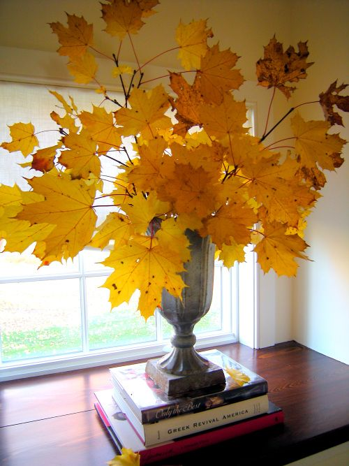 See what you can do with just a bunch of beautiful Fall leaves!