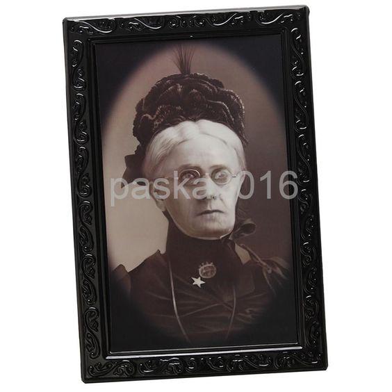 Horror Halloween Lenticular 3D Changing Face Portrait Wall Decor Size L#6