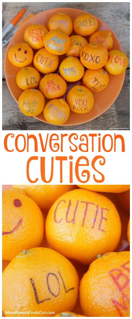 Conversation Cuties are Fun and Healthy Valentine's Day Treats Kids Love to Eat! Naturally Sweet Cuties Fruit #IWantCuties #SweetasCandy #ad: