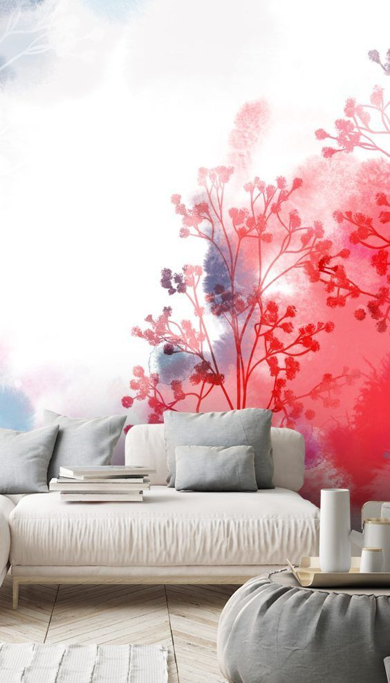 Did You Know Wallsauce S Gorgeous Custom Wall Murals Are Easy To Remove No Damage To Your Wa In 2020 Peel And Stick Wallpaper Custom Wall Murals Wallpaper Living Room