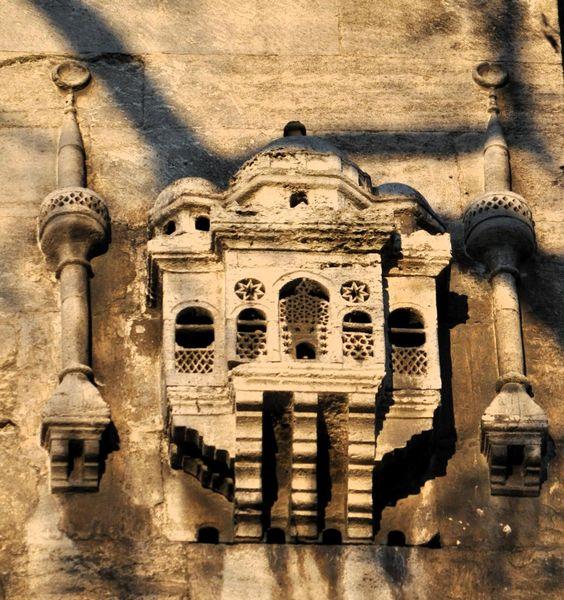 Casas de Aves en Yeni Valide Camii, Estambul, Turquía