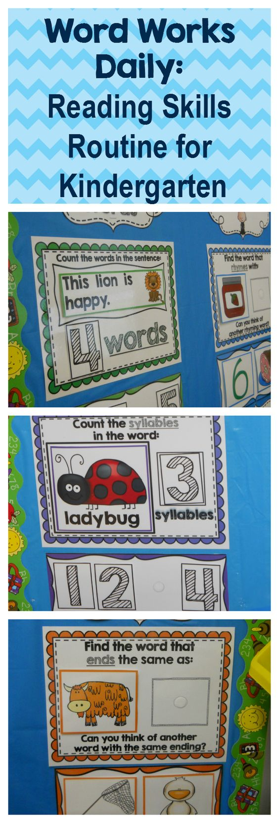Kindergarten Calendar Work : Kindergarten word works daily set interactive pdf