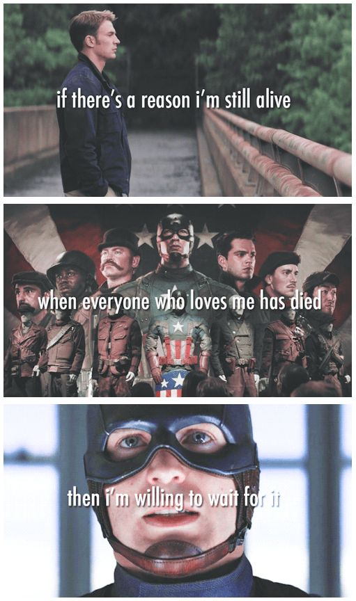 And sometimes we just have to cry. | 23 Times Tumblr's Love For Captain America Got It Right