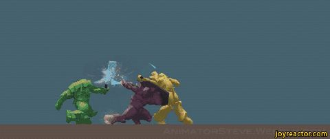 3d images of snakes   loop gif swordfight