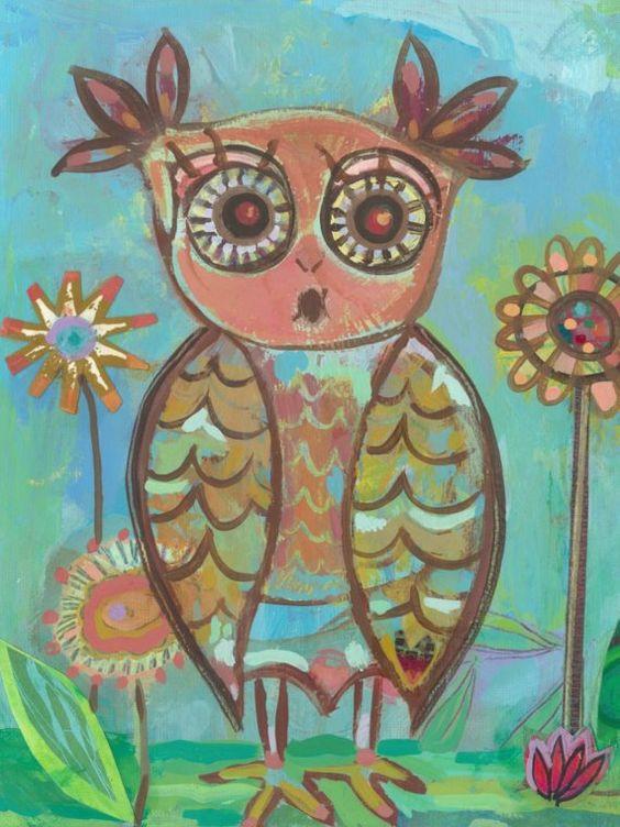 'Ms. Owl' by P Carter Carpin
