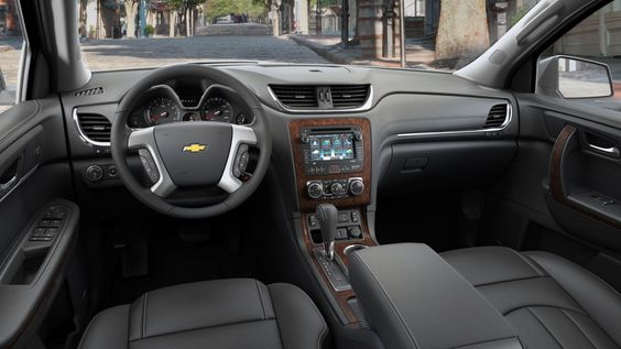 2015 Chevy Traverse interiors