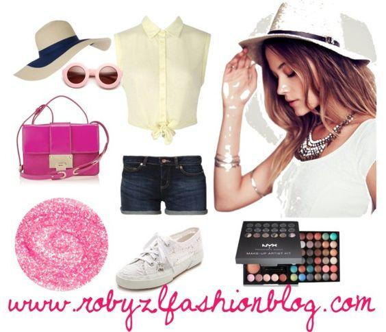 Per sentirsi in #vacanza anche quando così' non è, basta poco: uno#shorts, una #camicia annodata in vita e un paio di occhiali#sporty #chic ... #happy #monday #fashion #girls  ♥ now onwww.robyzlfashionblog.com
