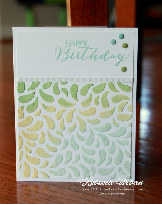 Stampin Up decorative masks.  Stampin up emboss.  DIY embossing paste.  Happy Birthday cards. Valentines cards