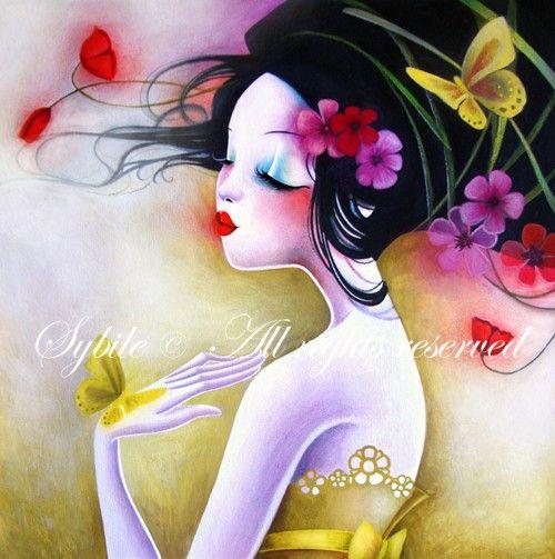 Sybile, Yellow Butterflies: