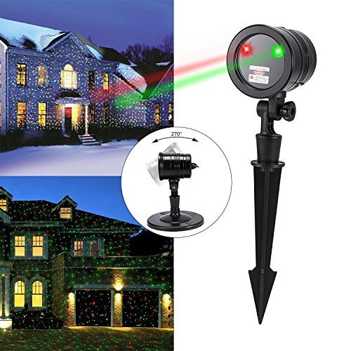 Christmas Light Projector Liu Hang Green And Red Star Festival Laser Lights With Rf Remote Controller And Led Projector Lights Christmas Projector Laser Lights