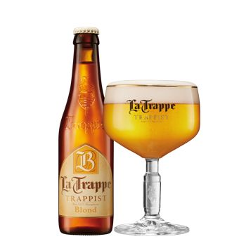 Bia La Trappe Blond 6,5% - Chai 330ml - Bia Nhập Khẩu