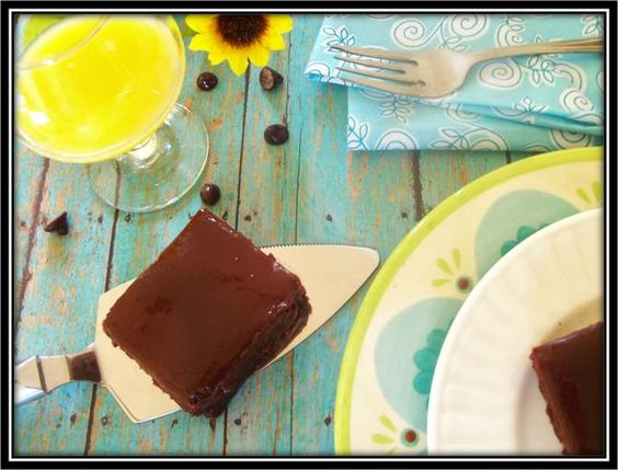 Sun-Kissed Brownies