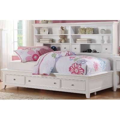 Satchell Bed With Bookcase And Drawers Daybed With Storage Bed