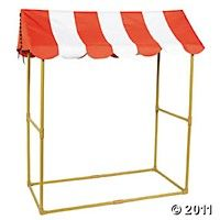 $38.50 Oriental Trading! tabletop tent