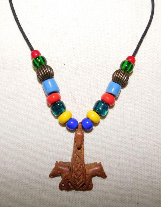 Halskette im Wikinger Stil von BelanasSchatzkiste auf Etsy