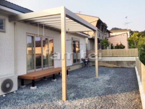 雨除け屋根 Ykkap リレーリアテラス屋根 1階用 F型フラット屋根 物干し テラス屋根 Diy テラス テラス屋根 自転車