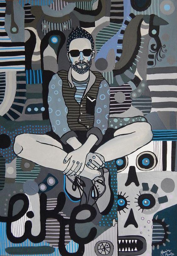 Marcin Painta - obraz skradziony poszukiwany