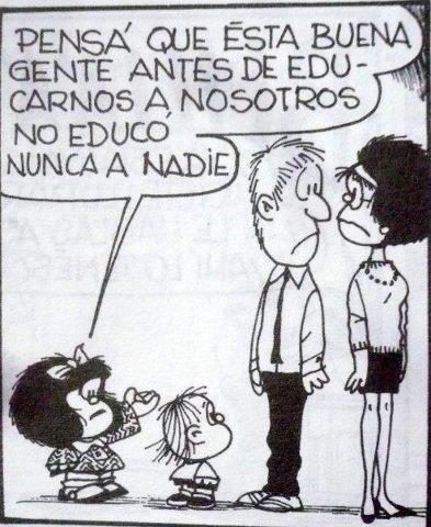 Mafalda ser padres