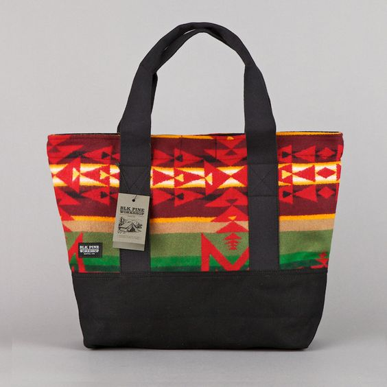 Blk Pine Workshop Tote