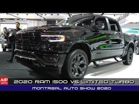 2020 Ram 1500 V6 Limited Turbo Diesel Exterior And Interior Montreal Auto Show 2020 Youtube In 2020 Ram 1500 Ram 1500 Diesel Turbo