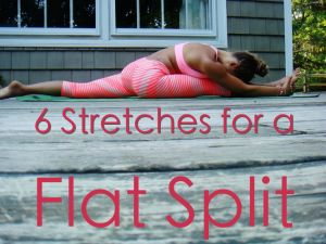 Why this article is different... foam roller (love this for massage AND oversplit), the scissors stretch...I have never seen before, the active leg stretch I thought about myself when seeing a tutorial on doing aerial cartwheels.
