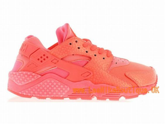 Nike Wmns Air Huarache Run Premium GS - Women´s/Girls´ Nike Sportswear Shoe Red