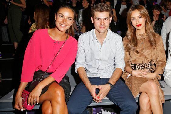 Pin for Later: Seht alle Stars bei der Berlin Fashion Week Janina Uhse, Lucas Reiber und Gizem Emre bei der Modenschau von Laurèl