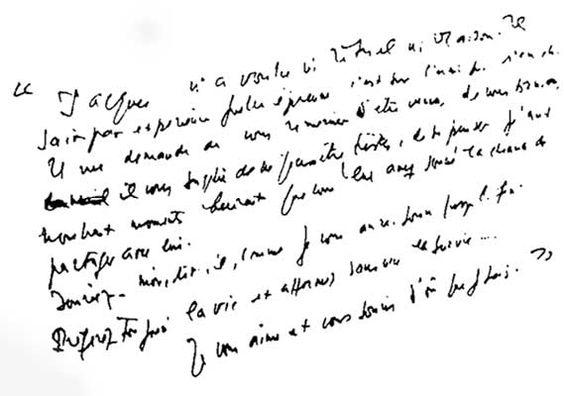 Derrida en castellano - Carta