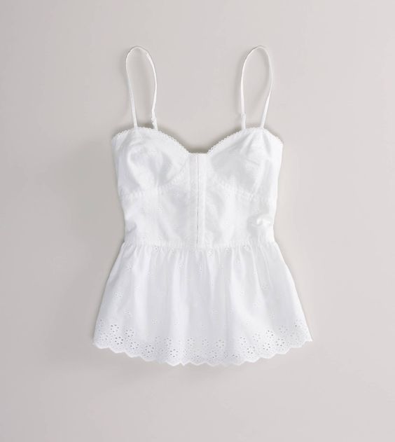 You would never guess where this adorable, summer-ready corset top was from... American Eagle, only $30!