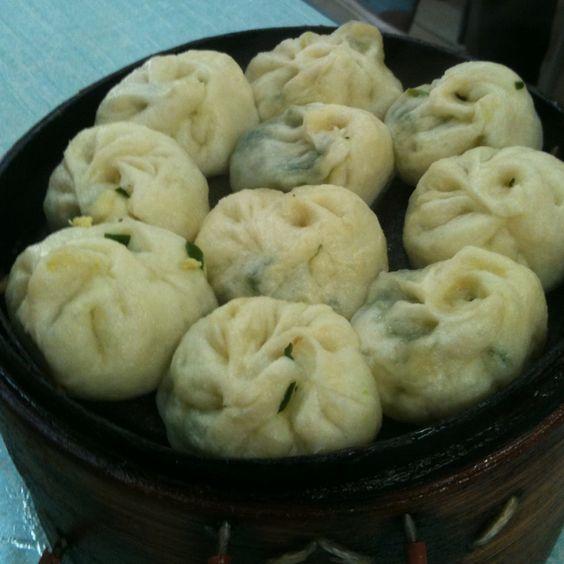 Steamed meat bun in Beijing