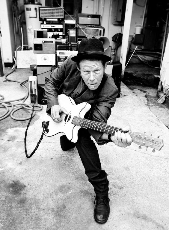 Tom Waits  Songs that take on the bleak, sad and dark side of our existence......perfect.