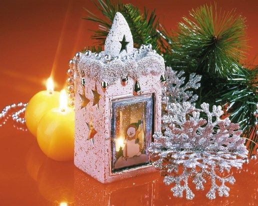 Christmas decoration / WallpaperCASA
