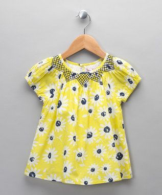 Yellow Flower Prrint Top