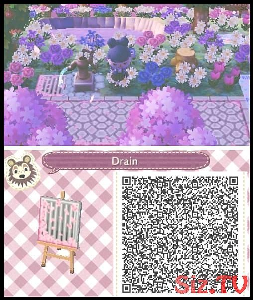 Kawaii City Natural Grid For Water In 2020 Animal Crossing Qr
