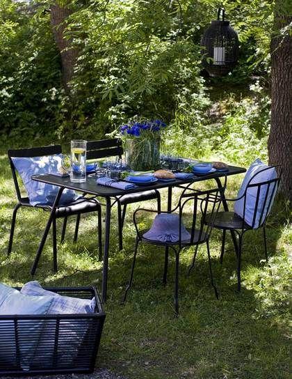 Muebles de jard n muebles de forja mesas de verano menaje - Muebles de verano ...
