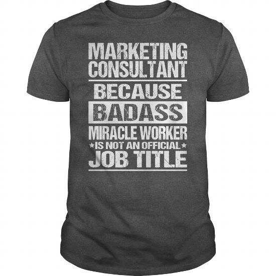 Awesome Tee For Marketing Consultant Job Shirts Pinterest - marketing consultant job description