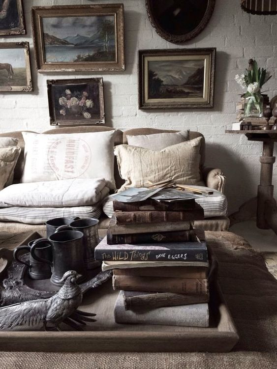 eclectic mix boho bohemian chic rustic decor interior