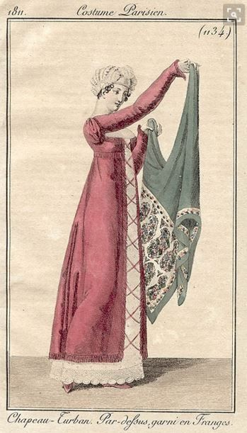Regency India shawls | Jane Austen's World