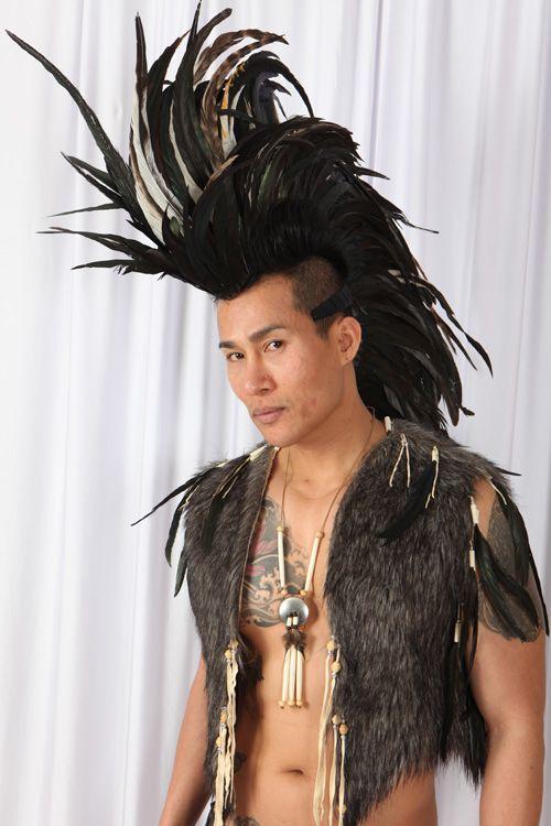Indian Mohawk » Feather Headpieces » Childrens Dancewear, Costume Hire, Custom Made Dancewear | House Of Priscilla