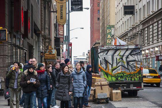 NYC graffiti by MichelleLynsey, via Flickr