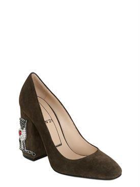 n°21 - женщины - туфли - замшевые туфли 100mm
