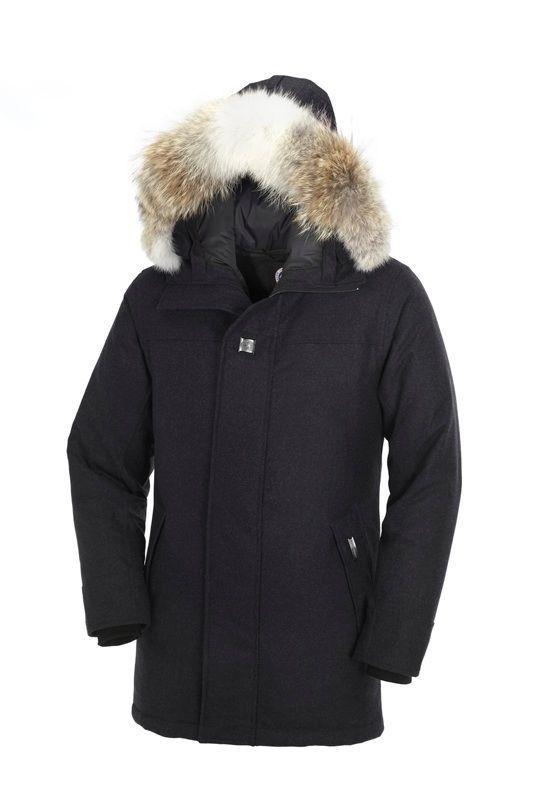 Canada Goose chilliwack parka outlet official - Canada Goose Como Parka Black Heather Men CAD396.90 http://www ...