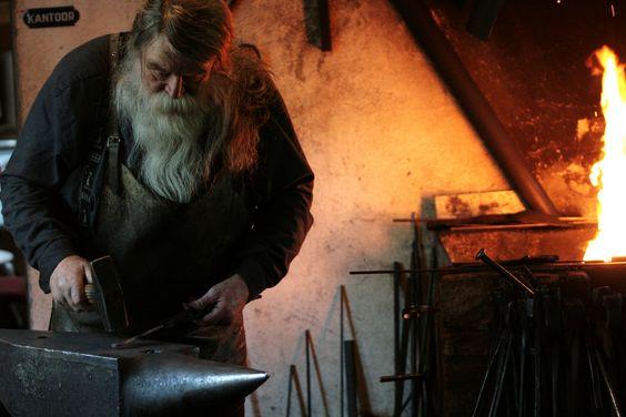 alfsaga:    ByTim Bartikowski: Blacksmith, Bartikowski Anvil, Bearded Awesomeness, Artsy Photos, Fluffy Beards, Beards Santa, Anvil Porn, Photography People
