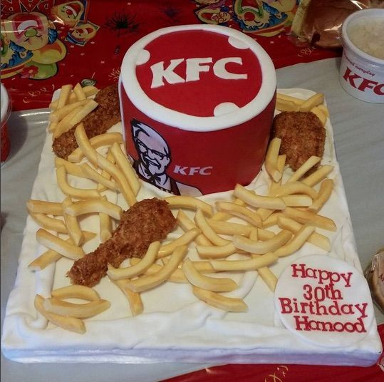 KFC Chicken Cakes Are a Bucket of Pure Awesome | Birthdays ...