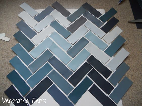 Chevron Paint Chip Art...I love this idea not expensive at all can't wait to do this.