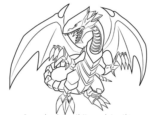Dragon Pictures To Color White Designs Trend